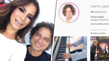 """Alessandra Rosaldo le hace saber a Chacho el error que cometió en Instagram y él le responde que """"fue intencional"""""""