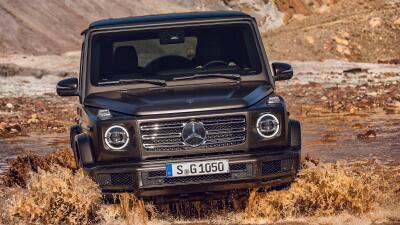 La nueva Mercedes-Benz Clase-G en imágenes
