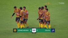 ¡Campanada! Leones Negros vence 3-1 al Celaya