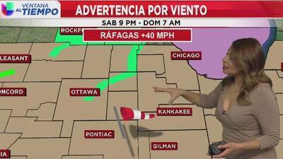 Condiciones secas y fuertes vientos, el pronóstico para este domingo en Chicago
