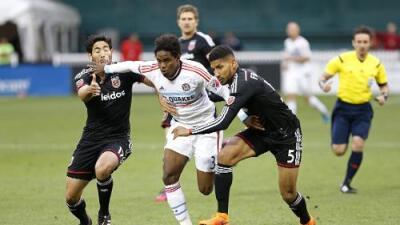 Jairo Arrieta marca un doblete y el D.C. United remonta el partido para ganar 3-1 al Chicago Fire