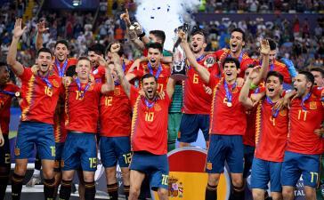 En fotos: España se desquita de Alemania y conquista su quinta Euro Sub-21