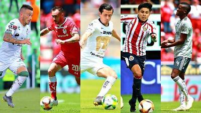 Félix y Hristo dan sus dos clasificados entre Toluca, Santos, Chivas y Pumas