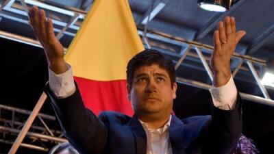 El oficialista Carlos Alvarado Quesada es electo presidente de Costa Rica