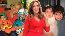 """""""El tiempo pasa, pero quedan las fotos"""": mira la transformación de Lina y Lorenzo, los hijos de Lili Estefan"""