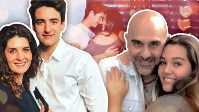 El hijo de Mayrín Villanueva y la hija de Héctor Suárez Gomís presumen su amor