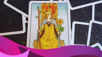 La Reina de Bastos del tarot: una mujer de cuidado
