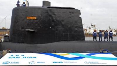 Detectan llamadas de emergencia del submarino argentino desaparecido con 44 tripulantes