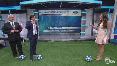 Power ranking: Real Madrid se metió al Top 5 de los mejores equipos de Europa en la actualidad