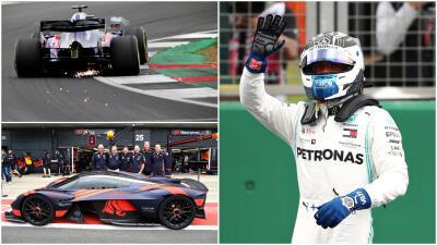 Las mejores imágenes: Vottas y Hamilton hacen el 1-2 en la clasificación del GP de Gran Bretaña
