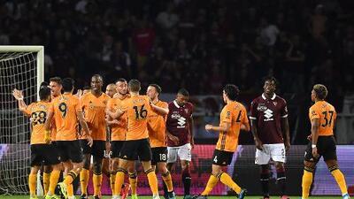 En fotos: Wolves gana en Torino y se acerca a la Fase de Grupos; Jiménez marca gol definitivo