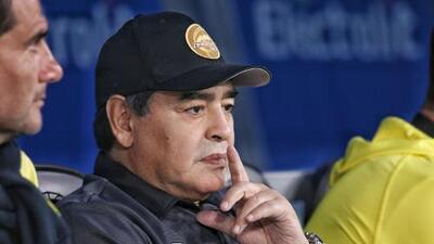Diego Maradona vuelve al Estadio Olímpico Universitario casi 33 años después