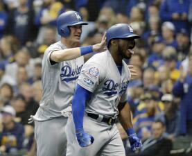 Entrada x entrada: los Dodgers vencen con autoridad a los Brewers y van a la Serie Mundial