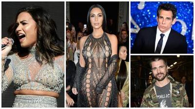 El robo a Kim Kardashian, el cansancio de Demi Lovato y las confesiones de Ben Stiller entre las noticias más destacadas del entretenimiento