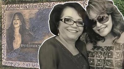 La mamá de Jenni Rivera llevó flores a la tumba de su hija y aseguró que le dijo (desde el cielo) que están bonitas
