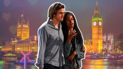 Así vive Malia Obama su romance 💞 en Londres