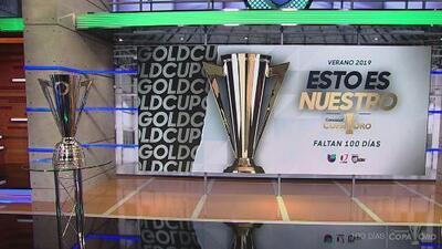 ¡Contémplenlo! El trofeo de la Copa Oro que dentro de 100 días levantará una nación de la Concacaf