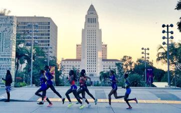 En fotos: Así se vivió el Maratón de Los Ángeles 2018