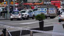 """""""No podía moverme ni hablar"""": víctima de tiroteo en Times Square"""
