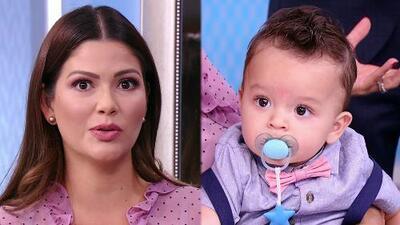 Así es como Ana Patricia despierta en su bebé Gael el interés por la música