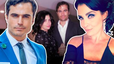 Nacho Casano y Lisset reviven su amor y no se preocupan por la diferencia de edades