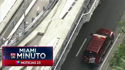 'Miami en un Minuto': incendio daña varios vehículos en el Aeropuerto Internacional de Miami