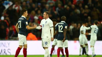 Inglaterra 2-0 Francia: Inglaterra puede con Francia en partido de solidaridad con París