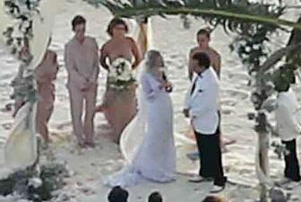 Fotos de la boda de Johnny Depp y Amber Heard