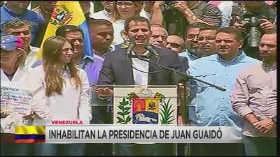Contraloría General de Venezuela inhabilita a Juan Guaidó de ejercer funciones públicas