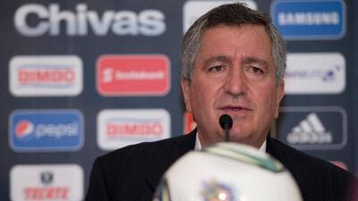 Jorge Vergara: ''Son mentira los rumores, si quisiera vendo a Chivas, pero no lo planteo''