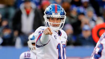 """Eli Manning defiende la 'Catch Rule': """"Creo que es bastante clara"""""""