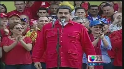 Aprueban juicio político contra Nicolás Maduro