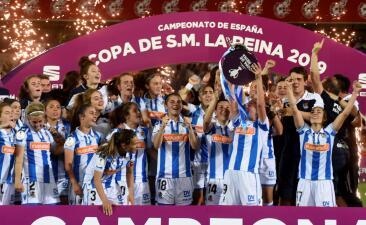En fotos: la mexicana Kiana Palacios, protagonista en la Final de la Copa de la Reina