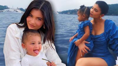 """Kylie Jenner no quiere eliminar las estrías que le dejó el embarazo porque dice que son """"un regalo de Stormi"""""""