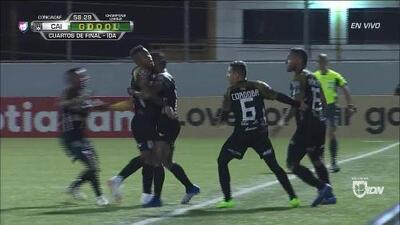 ¡GOOOL! Alexis Corpas anota para Independiente La Chorrera