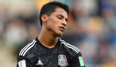 En fotos: tristeza de México en su debut con derrota frente a Italia en el Mundial Sub-20