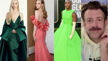 Los mejores y peores vestidos de los Golden Globe 2021 (o el código de vestimenta que nadie entendió)