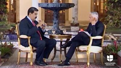"""""""Te vas a tragar con Coca-Cola tu provocación"""": Univision recupera la entrevista completa de Jorge Ramos a Nicolás Maduro"""