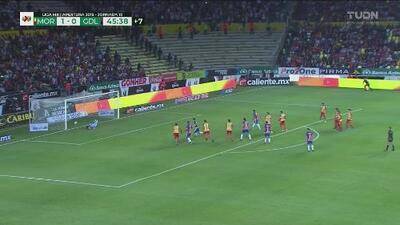 ¡Otra vez Sosa! El portero del Morelia le ahoga el grito de gol a Pulido