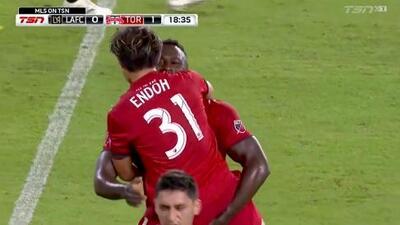 Tsubasa Endoh fusila al portero con un disparo cruzado y Toronto FC pega primero