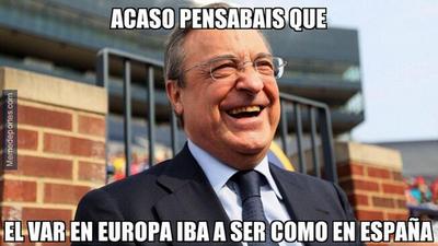 Memelogía   Las dudas del VAR con Real Madrid y los aplausos a Tottenham en Champions