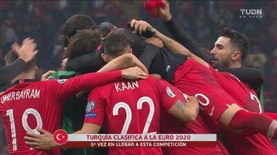 ¡Turquía clasifica a la Eurocopa 2020! Quinta vez que disputará el torneo