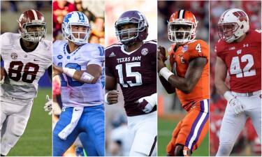 Top 50 prospectos para el NFL Draft 2017