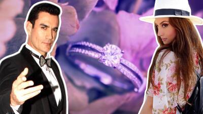 ¿Boda en puerta? David Zepeda revela cuándo le dará el anillo de compromiso a su novia Lina