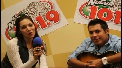Alex Rivera visitó la Nueva 101.9 FM