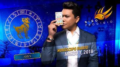 Niño Prodigio - Aries 1 de marzo 2018