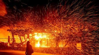 Esta es la lista completa de los incendios que azotan al sur de California