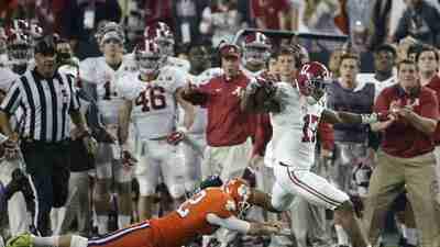 Alabama es campeón colegial luego de vencer 45-40 a Clemson