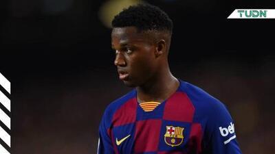 Ansu Fati fue convocado a la Sub 21 de España