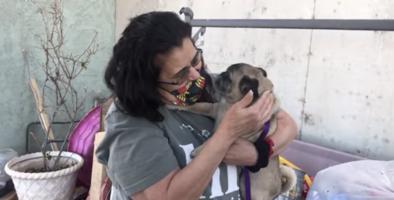 Mujer de Nuevo México se reencuentra con su perro que se perdió hace 6 años en California